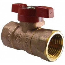 "SG-101 1/2"" IPS Brass Gas Shutoff Valve"