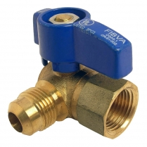 "SG-106 3/4"" Angle Pattern Gas Ball Valve"