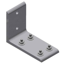 2AX229 Double Sidewall Joint Bracket-Alum. SCW