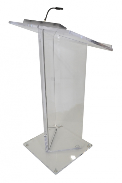 Evening Gala Lectern with AV Connections