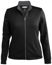 Style 7279 - Full Zip Contrast Zipper Jacket