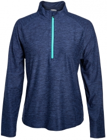 Style 7723 - Marled Jersey 1/4 Zip Tech Pullover