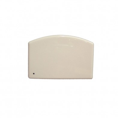 0003-3039 JR DOUGH SCRAPER WHITE PLASTIC