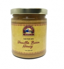 0140-VANILLAHONEY BLUE CATTLE TRUCK MEXICAN VANILLA BEAN HONEY