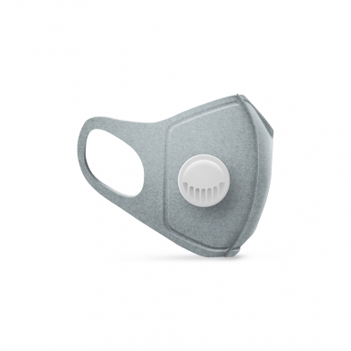 0278-MEDP/WSH/GRY MEDIPOP REUSABLE MASK GREY