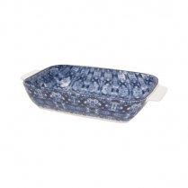0436-5092018 SHIBORI LARGE RECTANGLE BAKING DISH