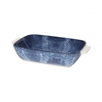 0436-5092020 SHIBORI MEDIUM RECTANGLE BAKING DISH
