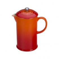 0589-PG8200/10/02 LE CREUSET FRENCH COFFEE PRESS FLAME
