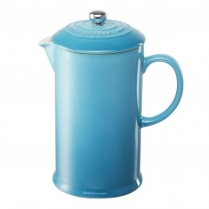 0589-PG8200/10/17 LE CREUSET FRENCH PRESS CARIBBEAN