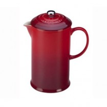 0589-PG8200/10/67 LE CREUSET FRENCH PRESS CHERRY