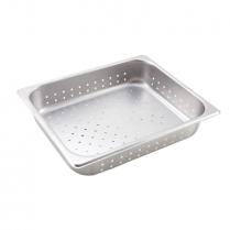 "0710-7122P HALF SIZE PERFORATED STEAM PAN 2.5"" DEPTH"