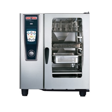 0880-B118206.27E Rational SelfCooking Center - Combi Oven - SCC 101 Nat Gas