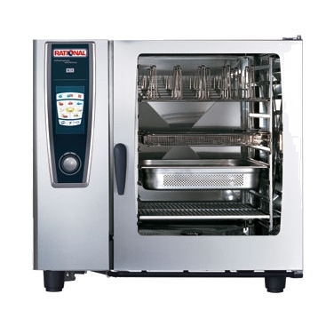 0880-B128206.19E Rational SelfCooking Center - Combi Oven - SCC 102 Nat Gas
