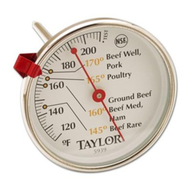 0929-5939N TAYLOR DIAL MEAT THERMOMETER