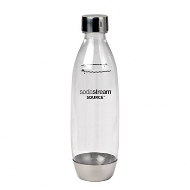 1088-1741190110 SODASTREAM 1L SOURCE BOTTLE S/S