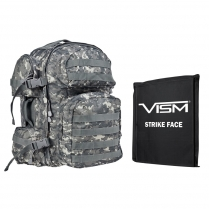 "Tactical Backpack w/10""X12"" Soft Panel"
