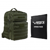 "Assault Backpack w/11""x14"" Level IIIA Soft Ballistic Panel"