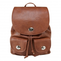 BWP003 Women's CCW Backpack- Brown