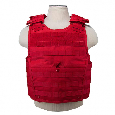 CVPCVX2963R Expert Plt Carrier/MED-2XL/Red