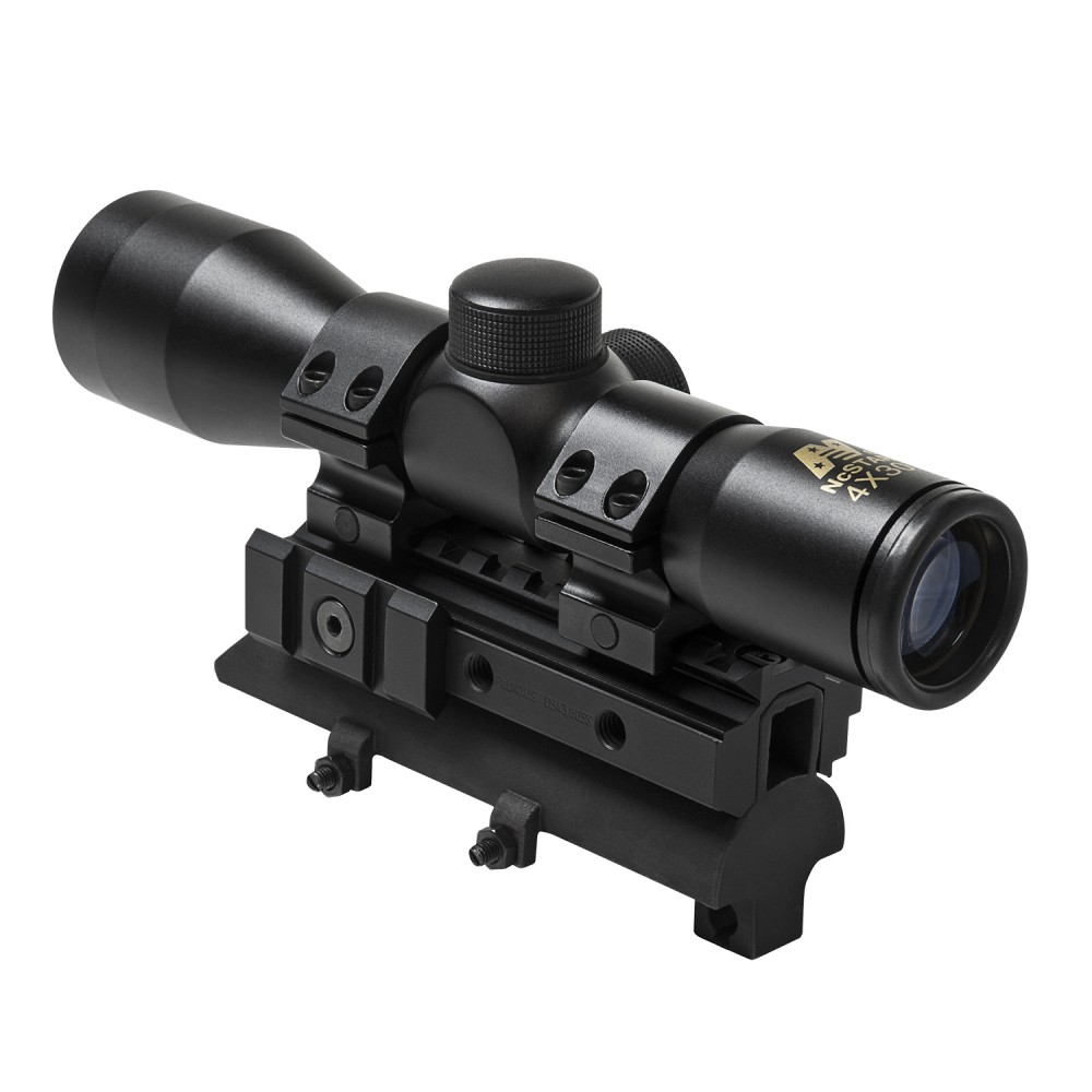 SC430B NcStar 4X30 Compact Scope//Blue Lens