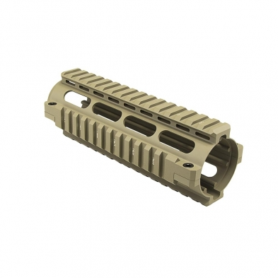 MAR4ST Mnt/AR/Carb Quad Rail HG Tan