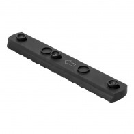 KeyMod Acc Rail/6 Hole/Black