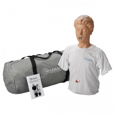 10-105 Simulaids® Adult Choking Manikin with Carry Bag