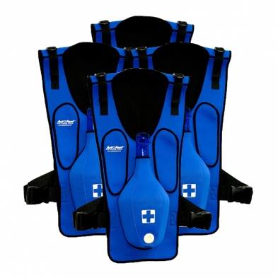 10-111 ActFast™ Choking Trainer - Blue - 5 Pack