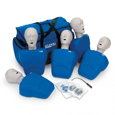 10-180 Life/form® CPR Prompt® Manikin - Blue - 5 Pack