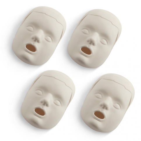 10-345 Prestan® Child Replacement Face Skins - Light Skin - 4 pack