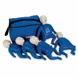 10-431 Life/form® CPR Prompt® Infant Manikin with Bag & Lung Bags - Blue - 5 Pack