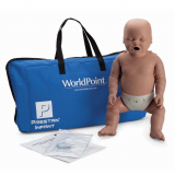 10-454 Prestan® Infant Manikin without CPR Monitor - Dark Skin