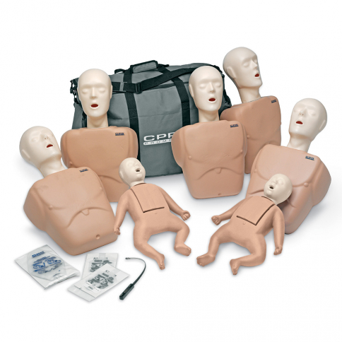 10-493 Life/form® CPR Prompt® Family Pack - Tan