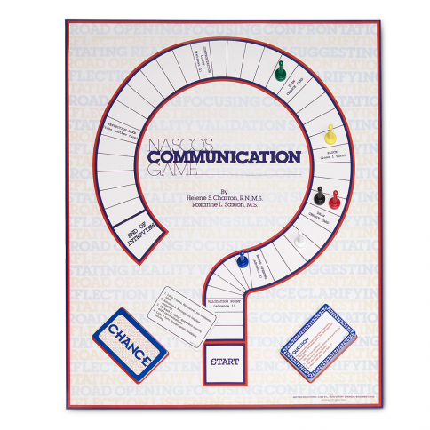 12-104 Nasco Communication Board Game