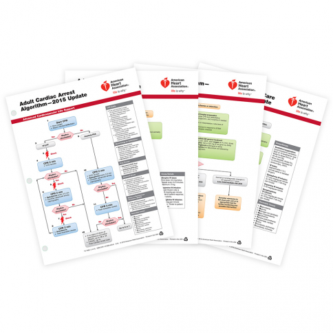 15-1008 2015 AHA ACLS Emergency Cart Cards