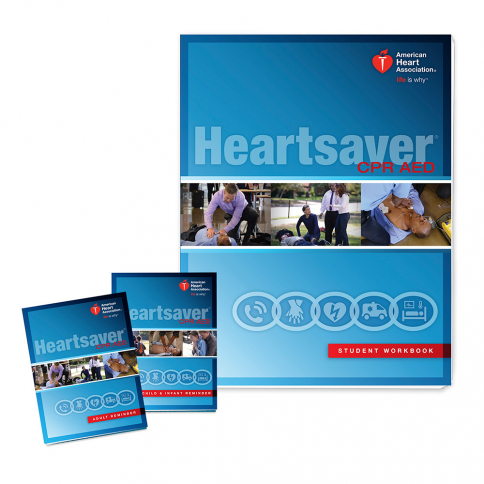 15-1020 AHA Heartsaver® CPR AED Student Workbook