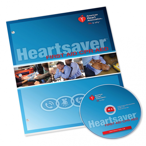 15-1023 AHA Heartsaver® First Aid CPR AED Instructor Manual