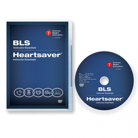 15-1067 2015 AHA BLS/Heartsaver® Instructor Essentials Course DVD