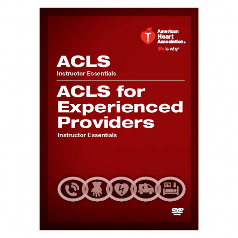 15-1068 AHA ACLS/ACLS EP Instructor Essentials Course DVD