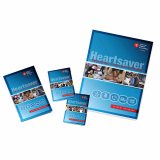 15-1073 AHA Heartsaver® Pediatric First Aid CPR AED Student Workbook - 6 Pack