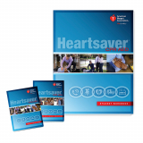 15-1074 AHA Heartsaver® CPR AED Student Workbook - 6 Pack