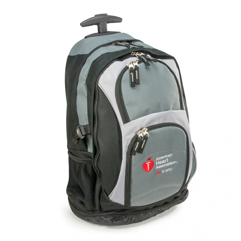 15-1502SP AHA Rolling Backpack - Spanish