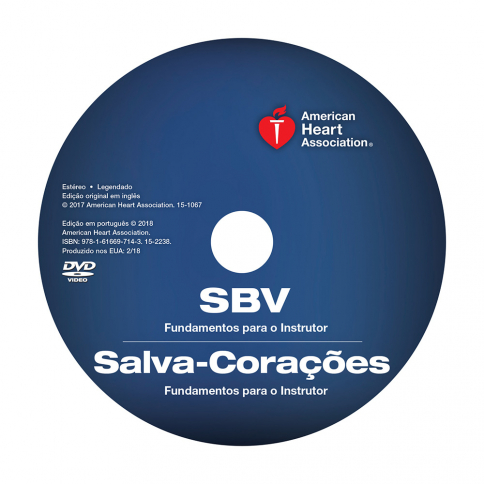 15-2238 2015 AHA BLS/Heartsaver® Instructor Essentials Course DVD - Portuguese