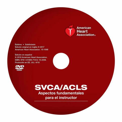 15-2348 2015 AHA ACLS Instructor Essentials Course DVD - Spanish
