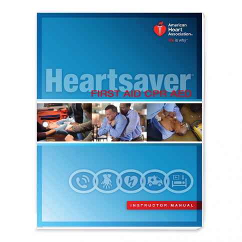 15-2810 AHA Heartsaver® First Aid CPR AED Instructor Manual eBook - IVE