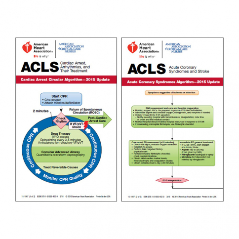 15-3109 2015 AHA ACLS Digital Reference Cards