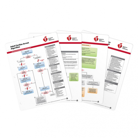 20-1110 2020 AHA ACLS Emergency Cart Cards