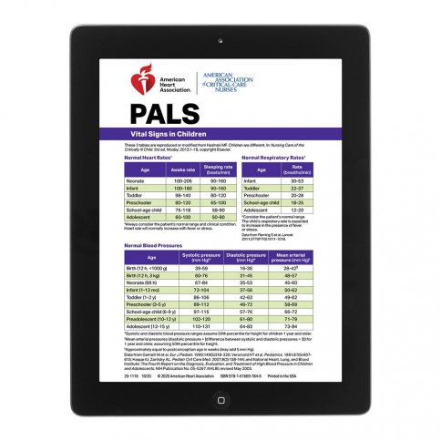 20-3121 2020 AHA PALS Digital Reference Card
