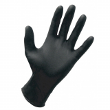 40-142 Dynarex® Nitrile Exam Gloves Powder Free - Black - Medium