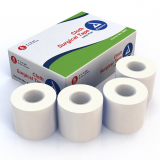 40-200 Dynarex® Cloth Surgical Tape, 2 in x 10 yd - 12 Pack
